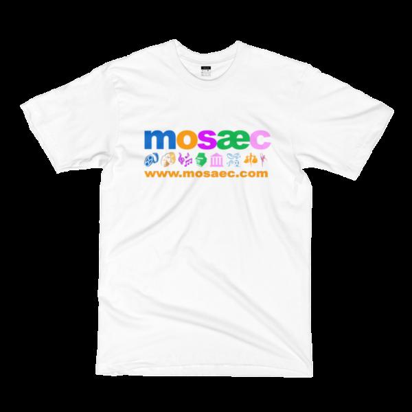 MOSAEC Melange Fine Jersey Short Sleeve